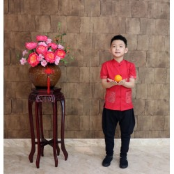 Kiwi Kiwi CNY Short Sleeve Tunic for Boys