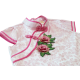 Kiwi Kiwi CNY Traditional Cheongsam/Qipao with 3D Embroidery Patch for Kids (Pink)