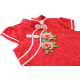 Kiwi Kiwi CNY Traditional Cheongsam/Qipao with 3D Embroidery Patch for Babies (Red)