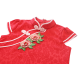 Kiwi Kiwi CNY Traditional Cheongsam/Qipao with 3D Embroidery Patch for Kids (Red)