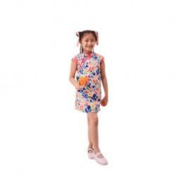 Kiwi Kiwi Cny Traditional Cheongsam/Qipao for Kids (Blue)
