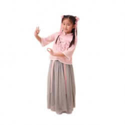 Kiwi Kiwi CNY Han Fu Suit with Long Skirt for Kids