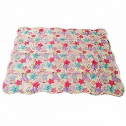Maylee Cotton Patchwork Baby Quilted (Pink)