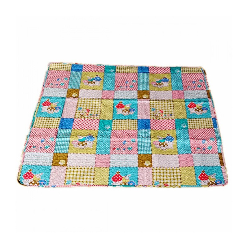 Maylee Cotton Patchwork Baby Quilted (BQ Mush) | Swaddle & Sleeping Bag