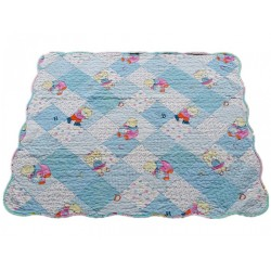Maylee Cotton Patchwork Baby Quilted (Bear)