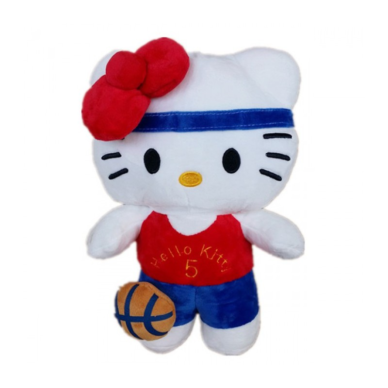 Soft Toys Cartoon : Maylee cartoon soft toy kitty basket toys