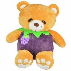 Maylee Cute Fruit Bear 30cm Purple (Grape)