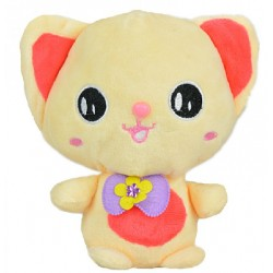 Maylee Cute Plush Cat 19cm (Orange)