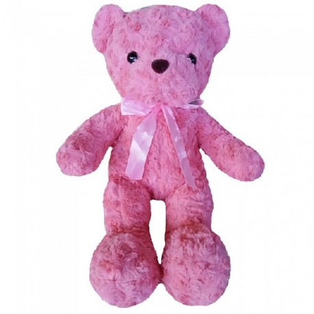 Maylee Cute Plush Teddy Bear 42cm Pink (Bear R-pink)