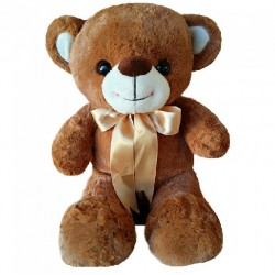 Maylee Sweet Big Plush Teddy Bear 60cm (Brown)