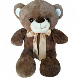 Maylee Sweet Big Plush Teddy Bear 60cm (Coffee)