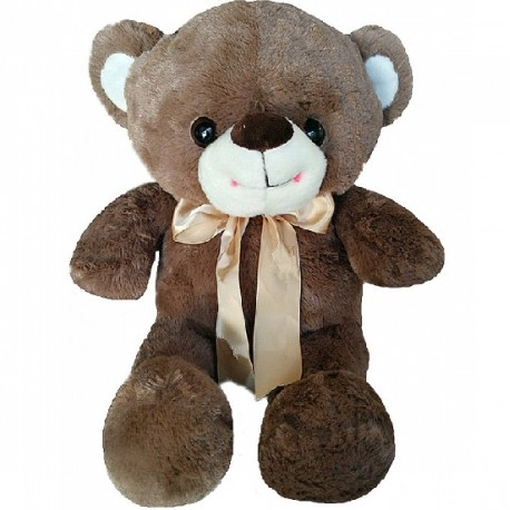 Maylee Sweet Big Plush Teddy Bear Coffee 60cm