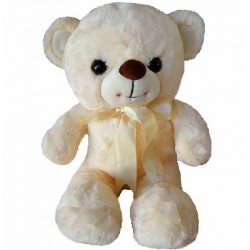 Maylee Sweet Plush Teddy Bear 28cm (Peach)