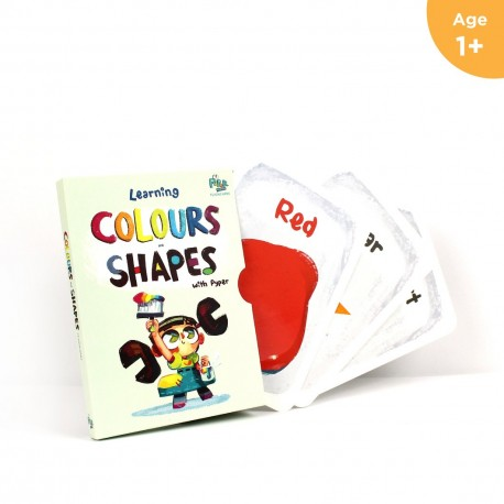 Me Books Colour & Shapes Learning Cards for Newborns
