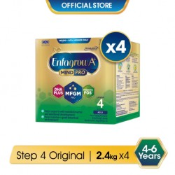 Enfagrow A+ Step 4 Original (MindPro) 2.4kg x 4 Packs