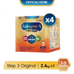 Enfagrow A+ Step 3 Original (MindPro) 2.4kg x 4 Packs