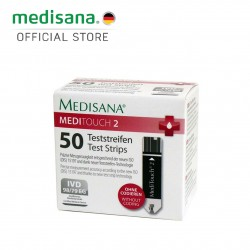 Medisana MediTouch 2 Glucose Test Strips of 50 Pieces