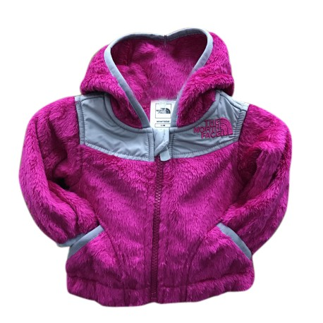 14c4f20ee North Face Baby Girl Toddler Cute Terry Hooded Winter Jacket Fuschia | For  Girls