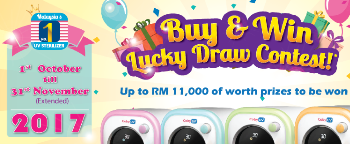 Coby Haus - Buy and Win Lucky Draw Contest