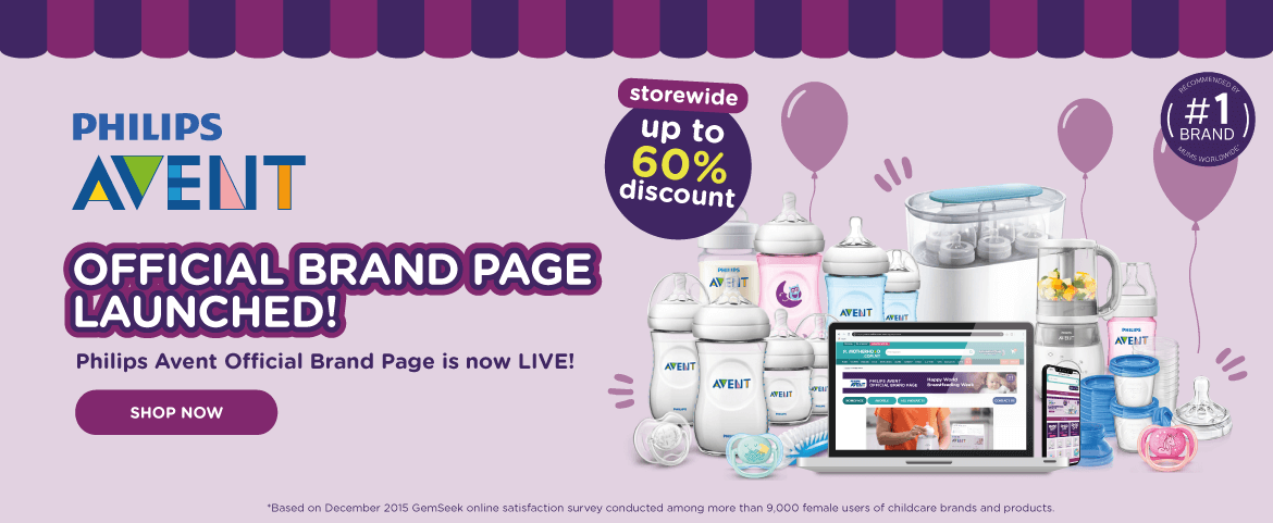 Philips AVENT official brand page launched!