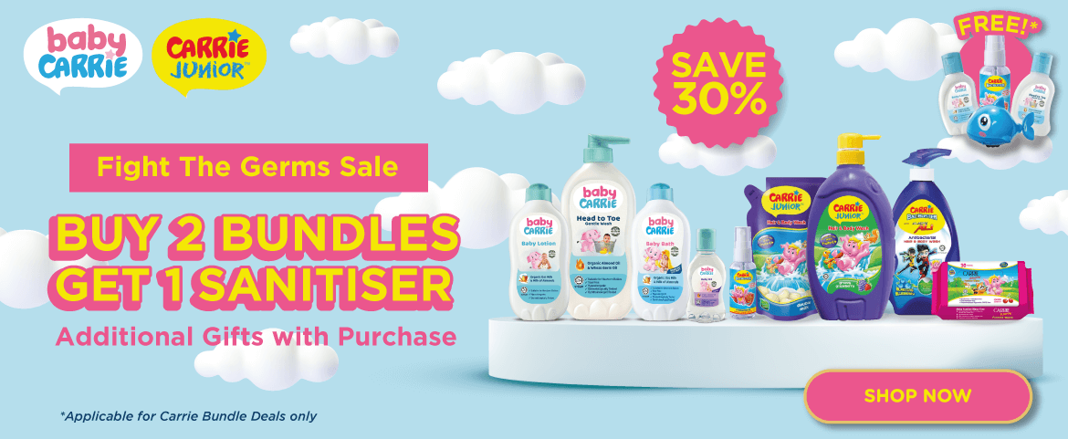 Carrie  Fight The Germs Sale - Save 30%