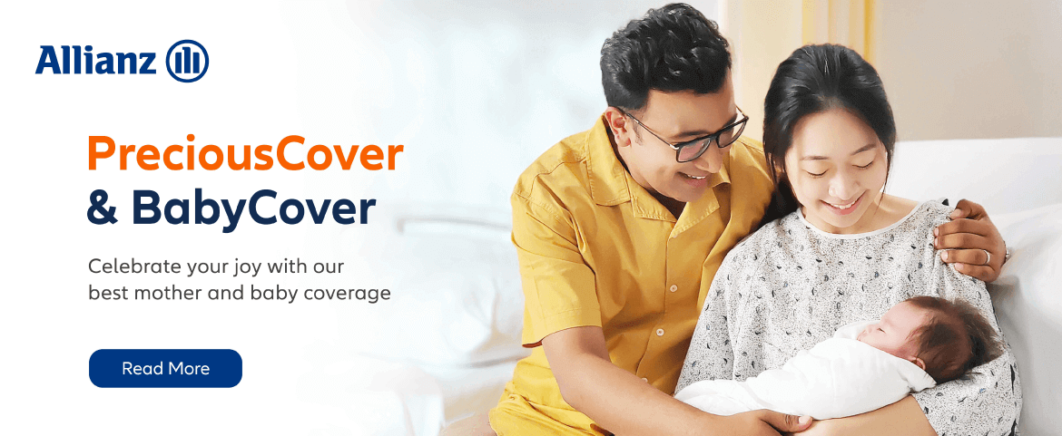 Allianz - PreciousCover & BabyCover - Celebrate your joy with our best mother and baby coverage