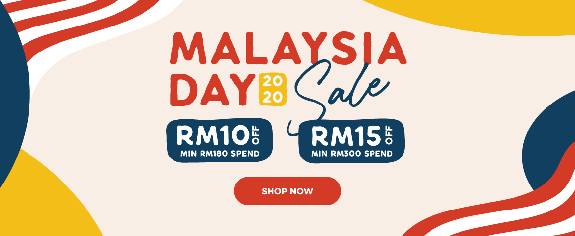 Malaysia Day Sale! Get RM15 Off