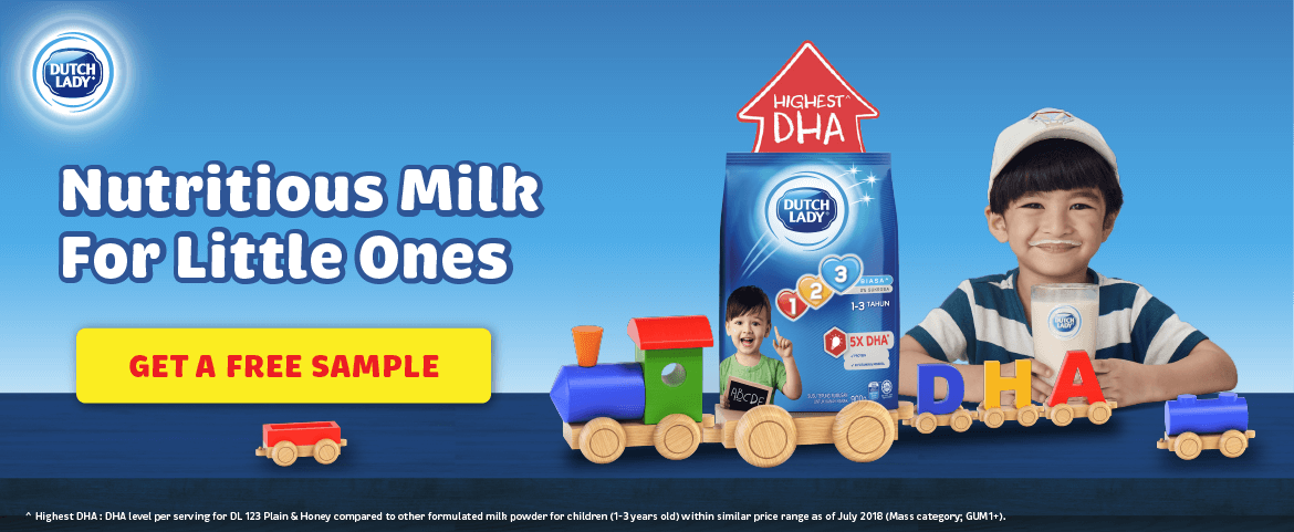 Dutch Lady Free Sample | Nutritious Milk For Little Ones