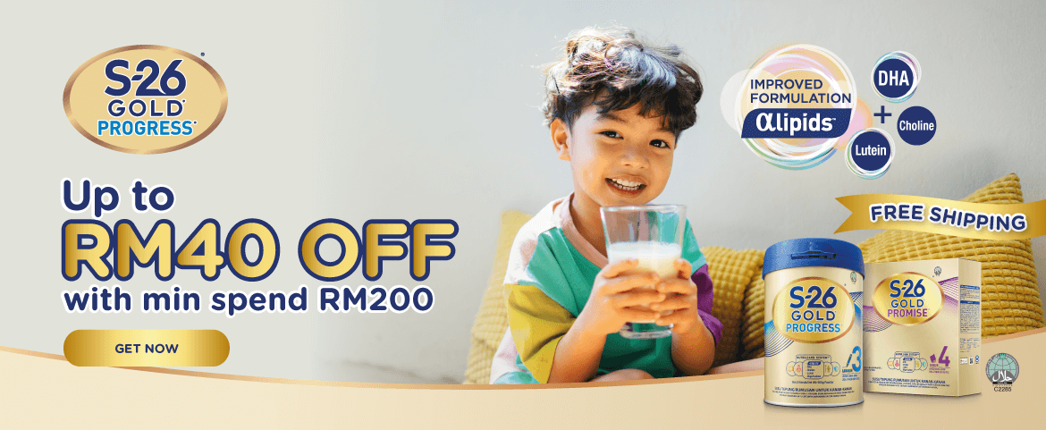 Wyeth Nutrition - Up to RM40 off