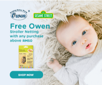 Owen and Sesame Street promotion