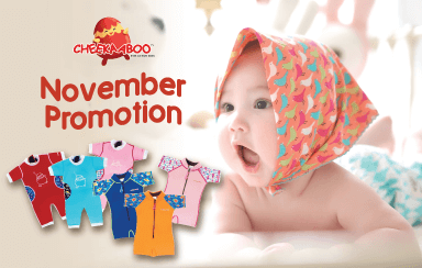 Cheekaaboo November Promotion