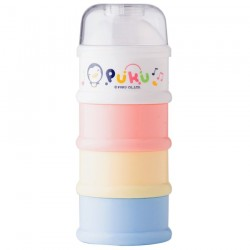 Puku 4 Layers Milk Powder Dispenser Formula Baby Infant Container Portable Box Case 100ml P11000-899