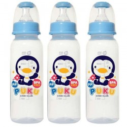 PUKU PP Standard Feeding Baby Bottle 3pcs/pack P10185