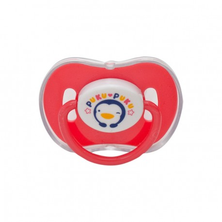 Puku Baby Pacifier 0m+ (New Born) - Red