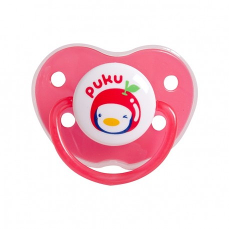 Puku Baby Pacifier (6m+) - Red