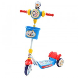 Puku Musical Mini Kids Scooter-Blue