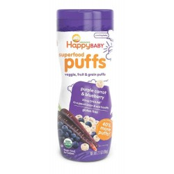 Happy Baby Organic Puffs (Purple Carrot & Blueberry)