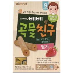 Ivenet Bebe Grain Friend - Strawberry (40g)