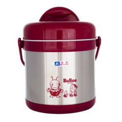 BUBEE H2000 Thermal Food Flask 2L (Red)