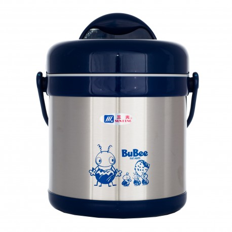 BUBEE H2000 Thermal Food Flask 2L (Blue)