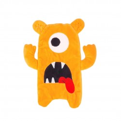 Inky Plush Pencil Case (Orange Grunt Monster)