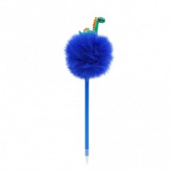 Inky Plush Collection Fun Ball Pen (Roar Space)