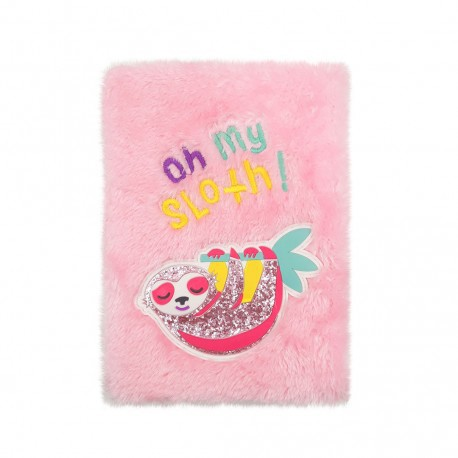 Inky Plush Collection Notebook (Sloth Furry)