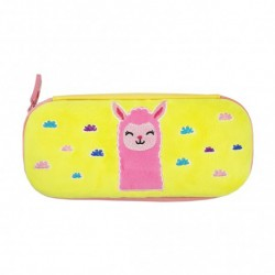 inky Plush Collection Hard Shell Pencil Case (Llama)
