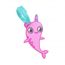 Inky Luggage Tag (Magic Narwhal)