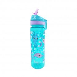 Inky Water Bottle (Magic Narwhal)