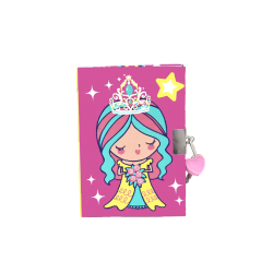 Inky Lockable Journal (Princess)