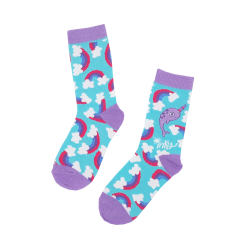 Inky Cotton Socks (Magic Narwhal)