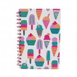 Inky A5 Wiro Notebook (Ice Cream)