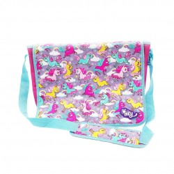 Inky Messenger Bag (Unicorn)